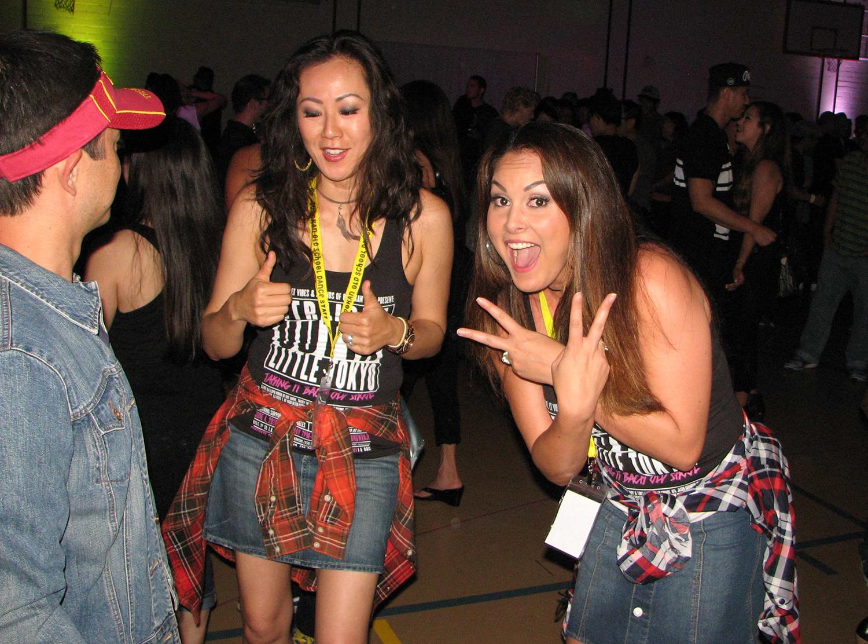 Lauren and Akiko
