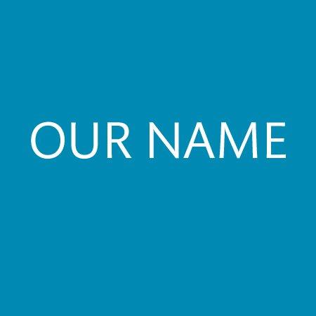 Our name button by Terasaki Budokan