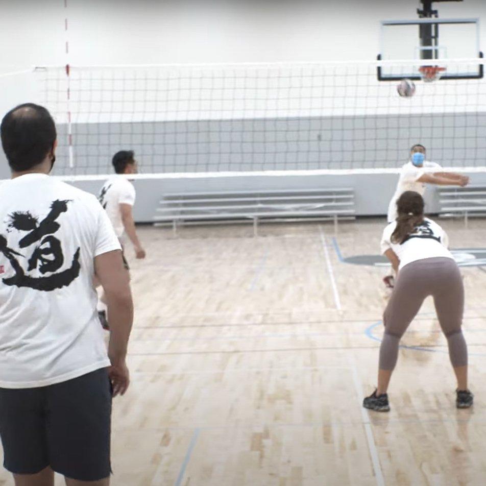 Quads volleyball tournament by Terasaki Budokan